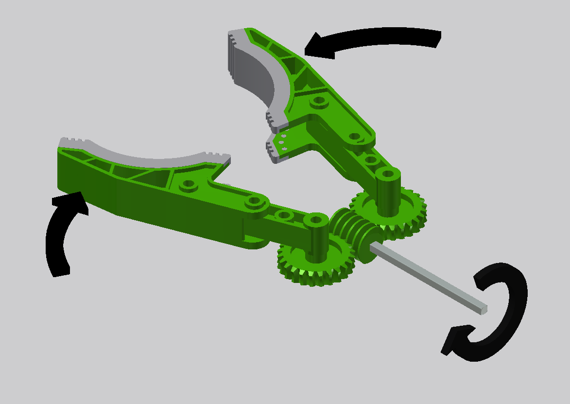 Mechanical claw design