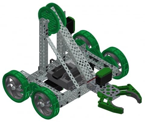 Appendix 9: Autodesk VEX Robotics Parts Library and Basic Commands ...